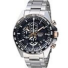 SEIKO 精工 三眼競速計時腕錶(SSB323P1)