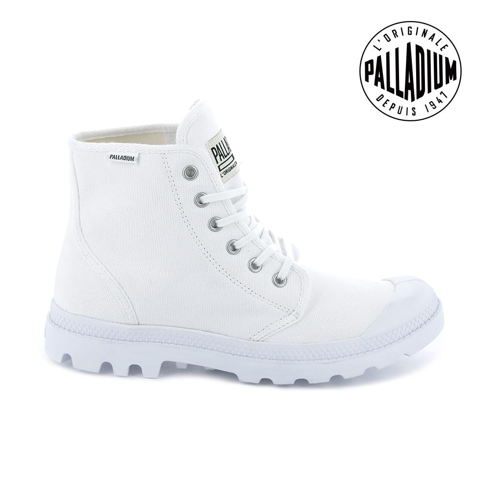 Palladium Pampa Hi ORIGINALE女鞋-白