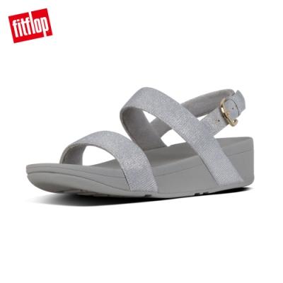 FitFlop LOTTIE GLITZY SANDALS 後帶涼鞋 銀色