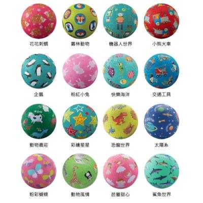 【美國Crocodile Creek】5吋兒童運動遊戲球(2入/不挑款)