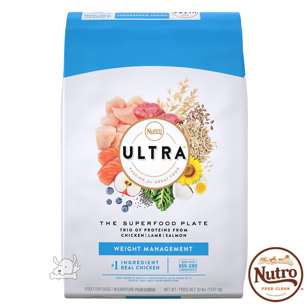 【Nutro 美士】Ultra 大地極品 低卡輕食 配方 犬糧 30磅 X 1包