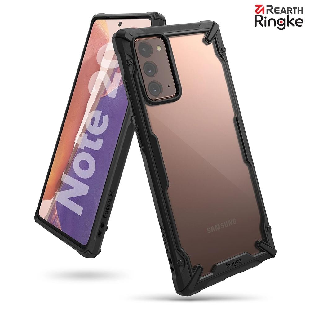 【Ringke】Rearth 三星 Samsung Galaxy Note20 / Note20 Ultra [Fusion X] 透明背蓋防撞手機殼