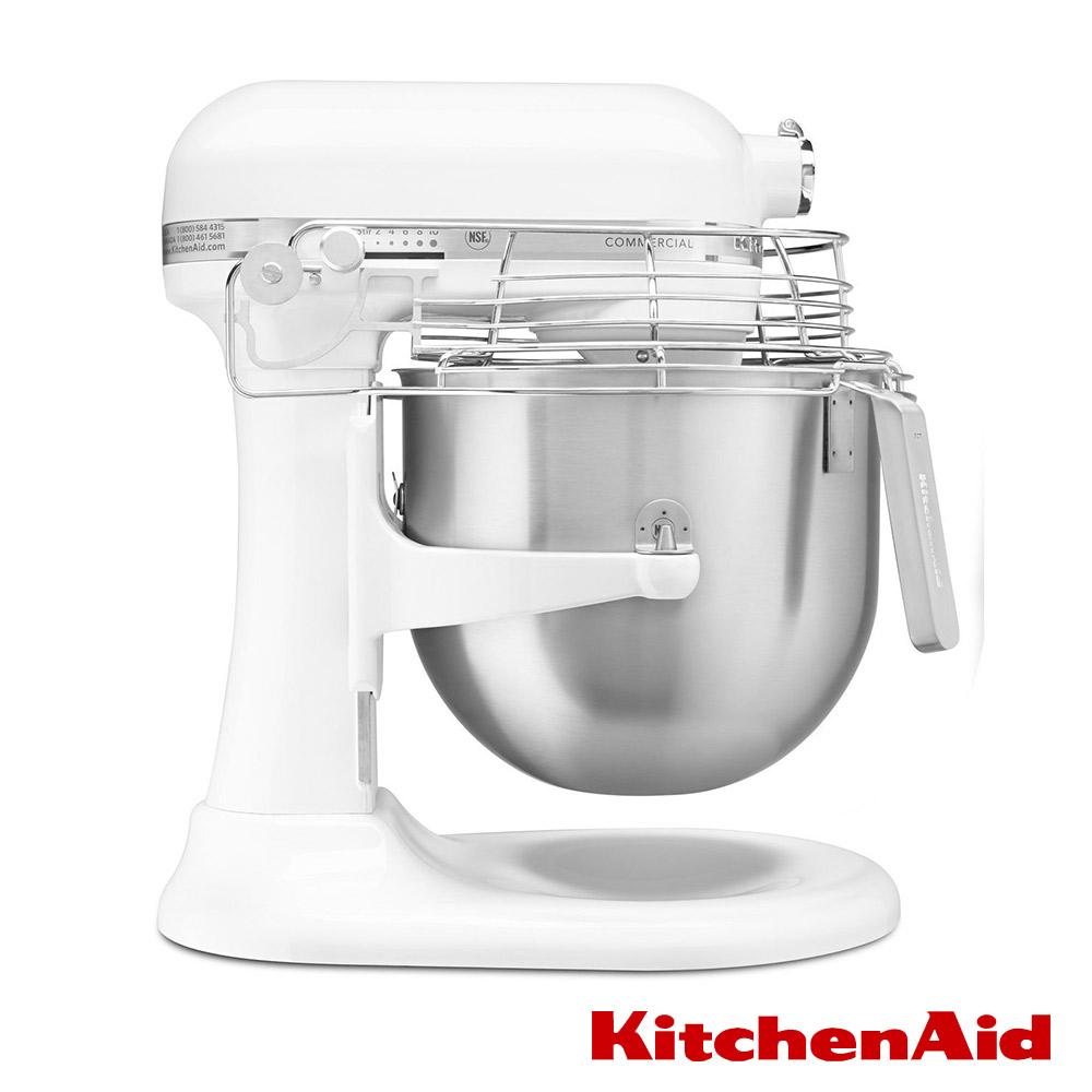 KitchenAid 8Qt 商用升降式攪拌機 3KSMC895TWH