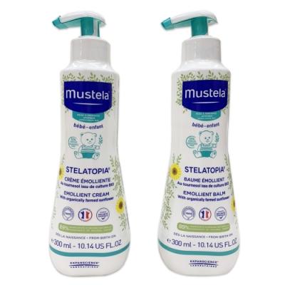 Mustela - 柔舒霜 300ml/2瓶 (清爽型/滋養型)