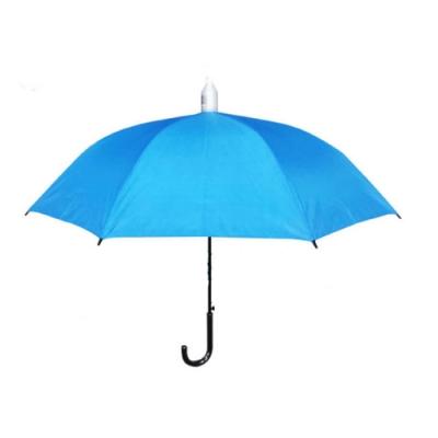 【台灣嚴選】RA56012IB 大傘面不滴水外銷 晴雨傘水藍色 (傘面外徑138CM)