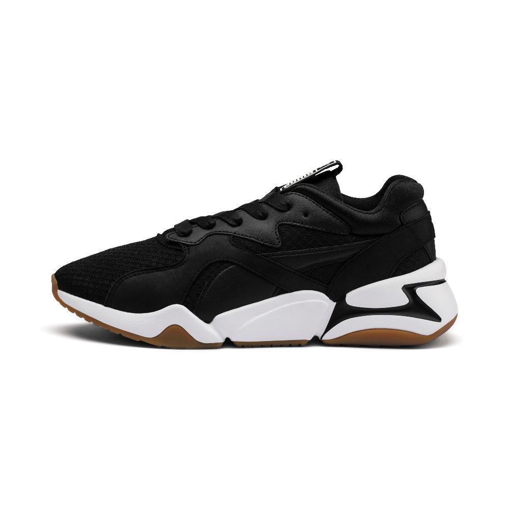 PUMA-Nova 90 s Bloc Wns女性慢跑鞋-黑色