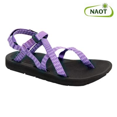 NAOT 女 夾腳型越野運動涼鞋 SHORE 38504X52 紫三角