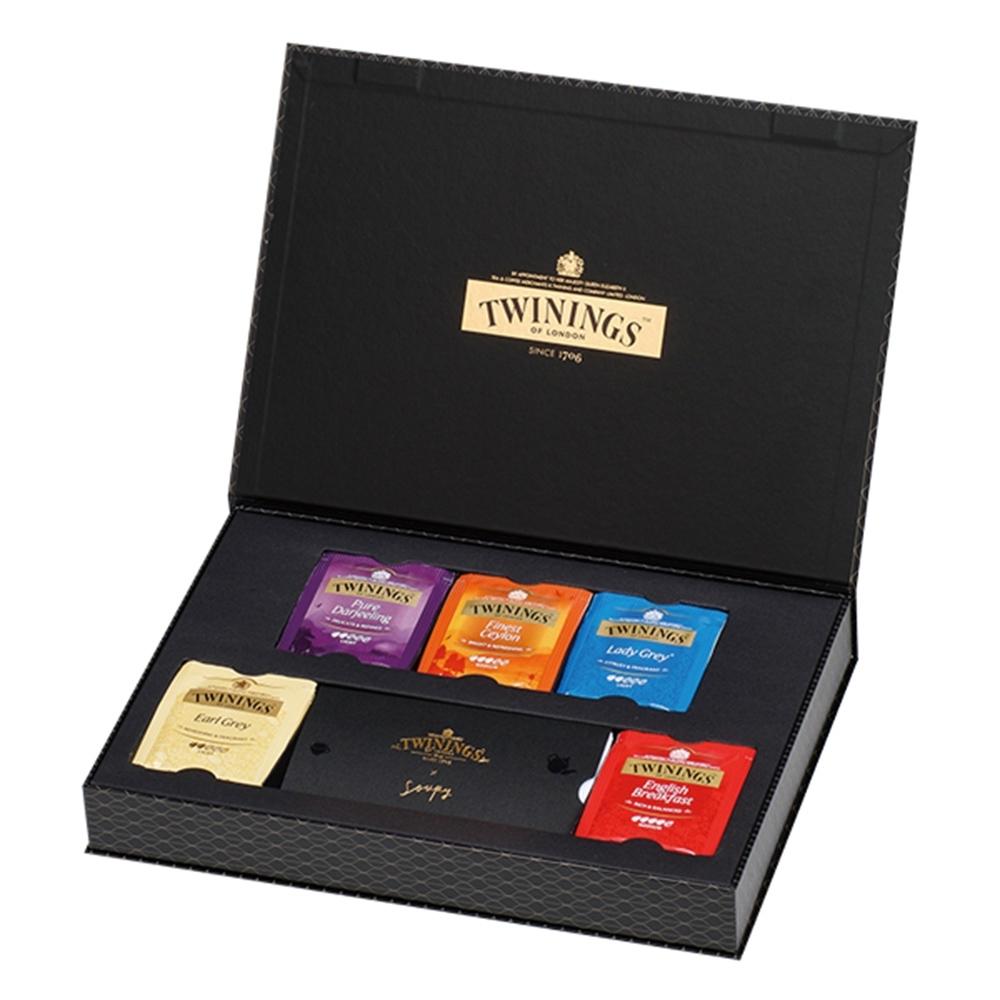 唐寧茶 藝術家禮盒-經典紅茶系列(20茶包)