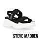 STEVE MADDEN-SAMURAI 彈性厚底透氣休閒涼鞋-黑色 product thumbnail 1