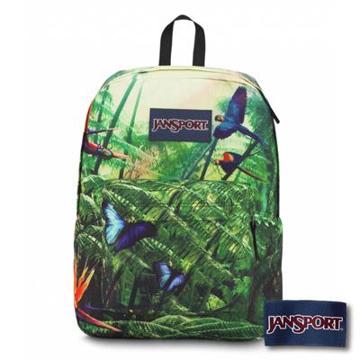JanSport -HIGH STAKES系列後背包 -熱帶叢林