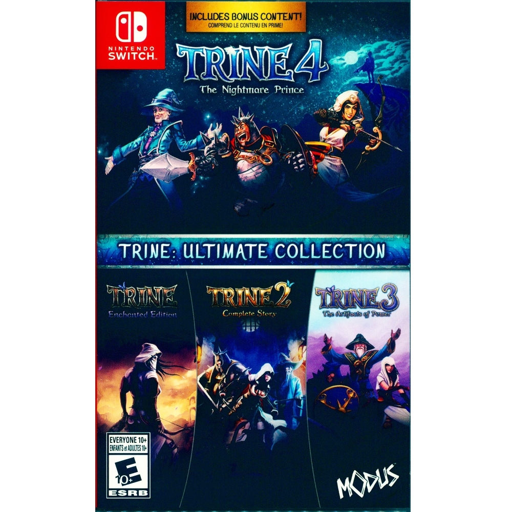 狩魔師 究極合集 Trine: Ultimate - NS Switch 中英日文美版