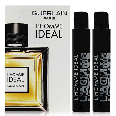GUERLAIN嬌蘭 L'HOMME IDEAL 男性淡香水針管 0.7ml x2入