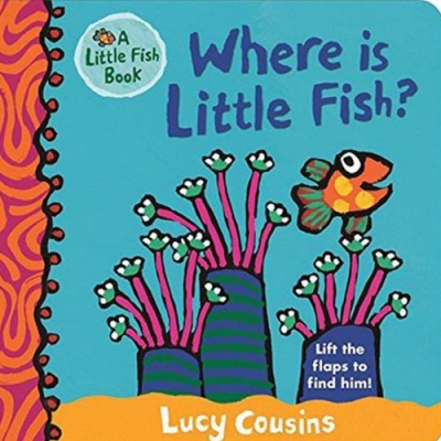 Where Is Little Fish? 小魚在哪裡?翻翻硬頁書