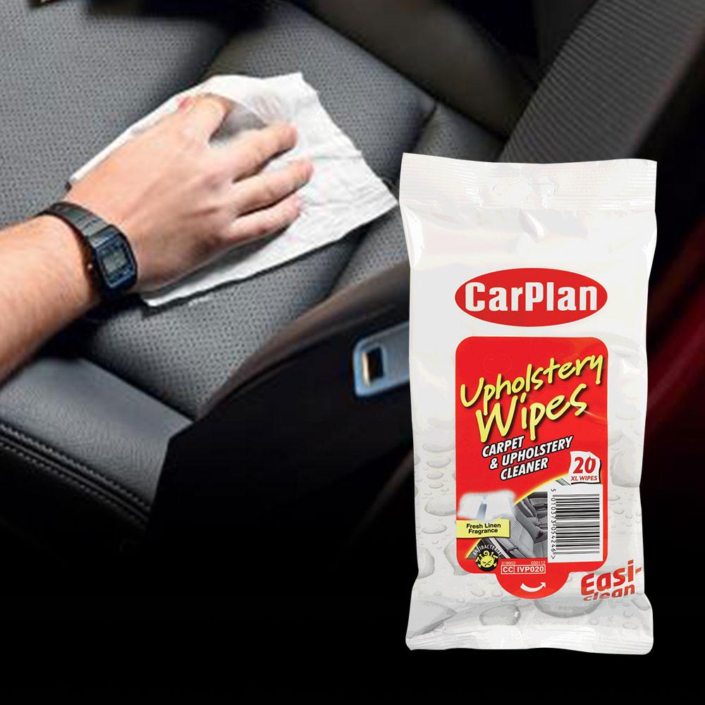 CarPlan卡派爾 內裝絨布/地毯擦拭紙巾