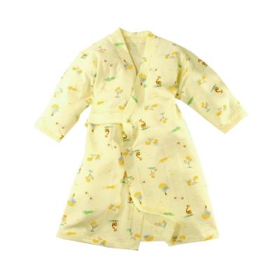 嬰兒長袍 台灣製秋冬厚款純棉護手和服長睡袍 b0323 魔法Baby