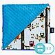 La Millou單面巧柔豆豆毯-AnnaMucha設計師限量款(樹屋貓頭鷹)-土耳其藍 product thumbnail 2