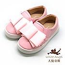 天使童鞋 可愛大蝴蝶結休閒鞋(中-大童)D721-08 粉