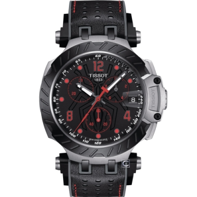 TISSOT T-RACE Marc Marquez競速時尚運動錶(T1154172705701)