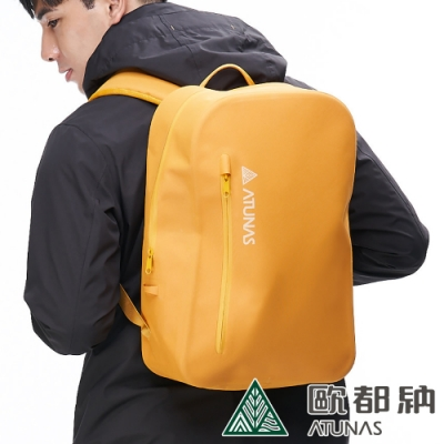 【ATUNAS 歐都納】潮流戶外防水多功能後背包18L(A1BPAA06N黃)