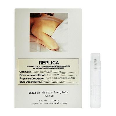 Maison Margiela Replica 慵懶週日 中性淡香水 針管小香 1.2ml