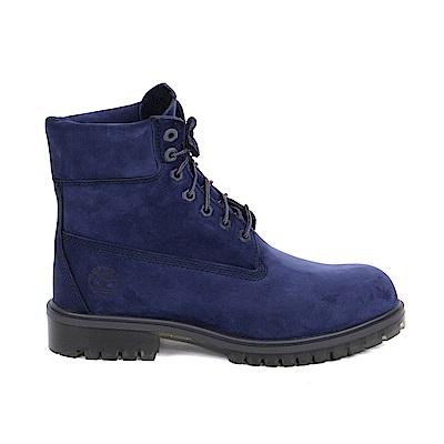 Timberland 男款深藍色絨面TPU款6吋靴 | A1LZ4G73