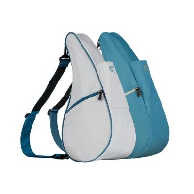 Healthy Back Bag 雙面水滴單肩側背包-S 簡約灰藍