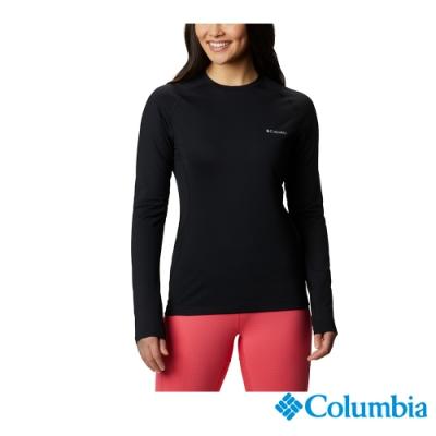 Columbia 哥倫比亞 女款- Omni HEAT3D保暖內著上衣-黑色 UAK27150BK