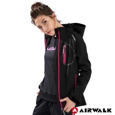 【AIRWALK】女款連帽貼合外套-共兩色