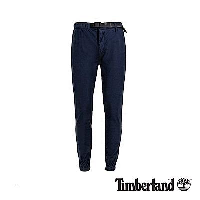 Timberland 男款深寶石藍寬鬆錐形彈力束口長褲|A1OIV