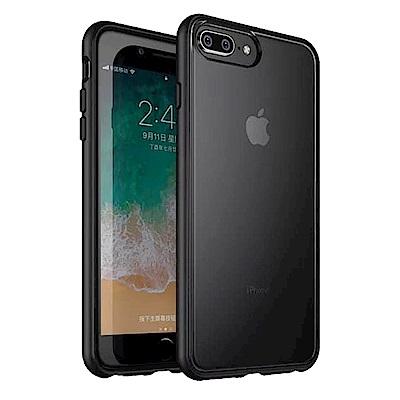 IN7 魔影系列 iPhone 8+/7+/6s+/6+(5.5) 透黑磨砂款防摔殼