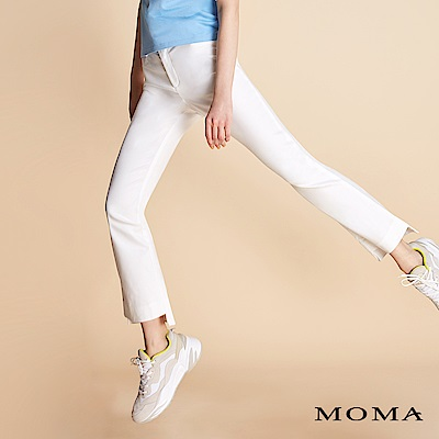 MOMA 褲擺設計錦棉褲