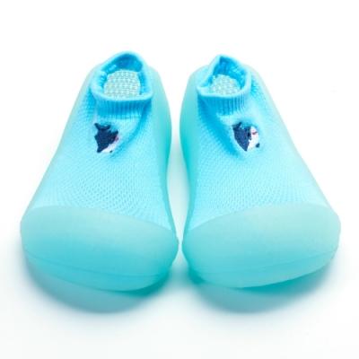 韓國Attipas 快樂學步鞋A20COB-海藍鯊鯊