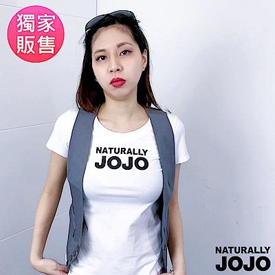 【NATURALLY JOJO】短版外搭背心(灰)