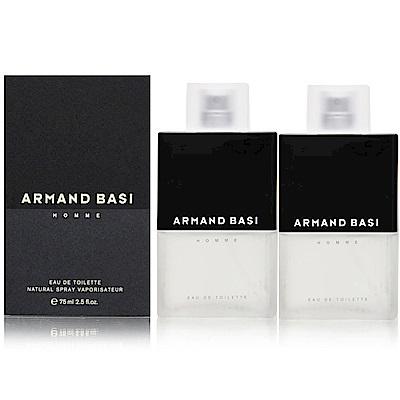ARMAND BASI 2000年之戀男性體香噴霧75ml (2入) 盒損