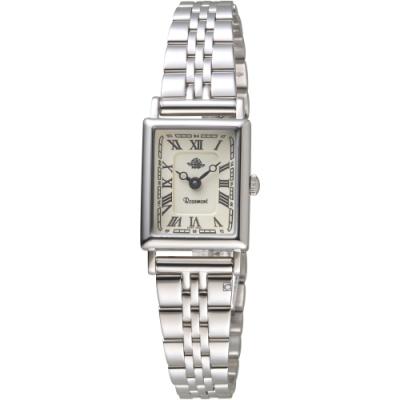 玫瑰錶Rosemont NS懷舊系列時尚古典腕錶 TNS012-SWR-SMT6(銀色)