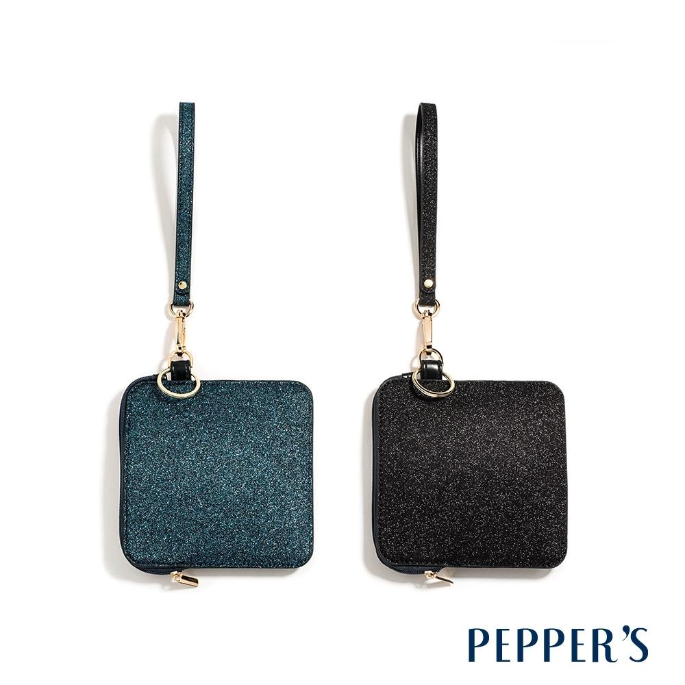 PEPPER'S Glitter 星河方形零錢包 - 2色