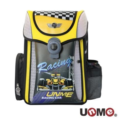 【UnMe】夢想家U型護脊減壓磁扣書包-極速賽車手