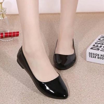 KEITH-WILL時尚鞋館 (現貨) 韓新品簡約隨興平底鞋-黑色