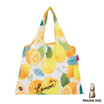 日本 Prairie Dog 設計包/環保袋/購物袋/手提袋 - 夏日檸檬