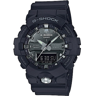 G-SHOCK 金屬亮澤雙顯潮流運動錶(GA-810MMA-1A)