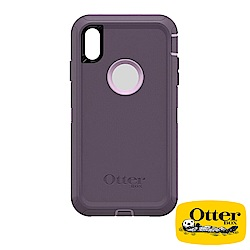 OtterBox iPhoneXS Max防禦者系列保護殼-醇紫