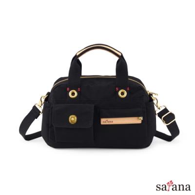 satana - Soldier 解構美好手提包 - 黑色