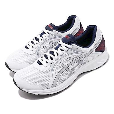 Asics 慢跑鞋 Jolt 2 4E 運動休閒 超寬楦 男鞋 亞瑟士 路跑 透氣 輕量 透氣 白 藍 1011A206102