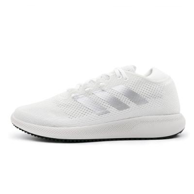 ADIDAS-edge flex w 女慢跑鞋-白-G28209