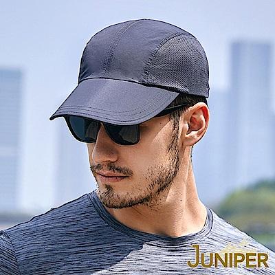 JUNIPER 抗UV紫外線防潑水男女輕便運動帽慢跑帽