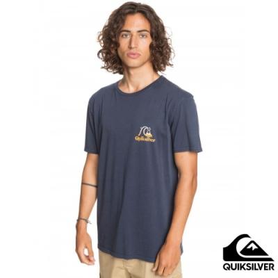 【QUIKSILVER】FLOW RIDE SS 針織T恤 海軍藍