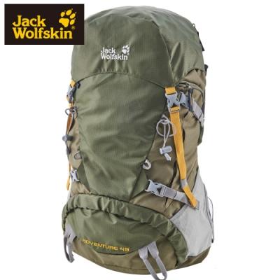 【Jack wolfskin 飛狼】Adventure 登山背包 45L『綠色』