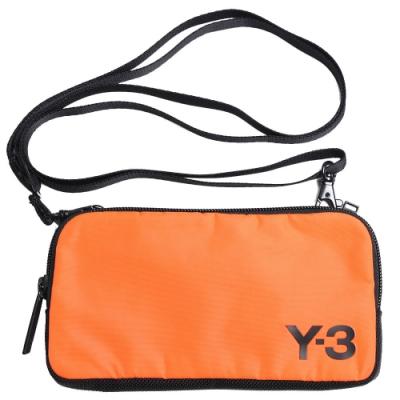 Y-3 LOGO POUCH 山本耀司手拿/斜背機能小包(小/橘色)