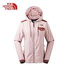 The North Face北面女款紅色防潑水保暖休閒外套