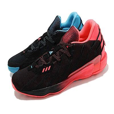 adidas 籃球鞋 Dame 7 GCA 運動休閒 男鞋 愛迪達 雙色 鴛鴦 里拉德 中筒 緩震 黑藍橘 G57905